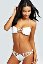 Boohoo Nepal Cut Out Detail Bikini Set