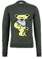 J.W.Anderson Bear jacquard Merino wool unisex sweater