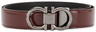 Salvatore Ferragamo reversible adjustable Gancini belt