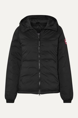 Canada Goose Camp Hooded Quilted Ripstop Down Jacket - Black