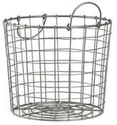 Nobrand No Brand Silver Wire Round Basket Small - Room Essentials