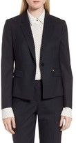 BOSS Women's Jinalika Wool Suit Jacket