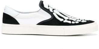 Amiri Skel Toe slip-on sneakers