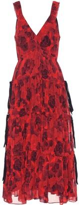Proenza Schouler Silk crepe chiffon dress