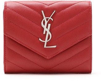 Saint Laurent Quilted Leather Wallet