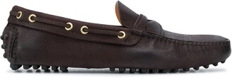 Car Shoe Distressed Driving Loafers