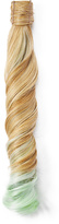 Hairdo. by Jessica Simpson & Ken Paves Ginger Blonde & Light Green Wavy Ponytail Hair Extension