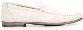Silvano Sassetti Stitch Detail Loafers