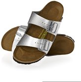 Birkenstock Arizona Bf Metallic Sandals