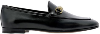Gucci Jordaan Horsebit Loafers