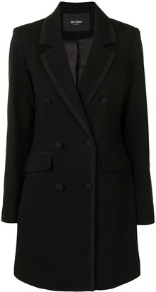 Twin-Set Double-Breasted Notched Lapel Jacket