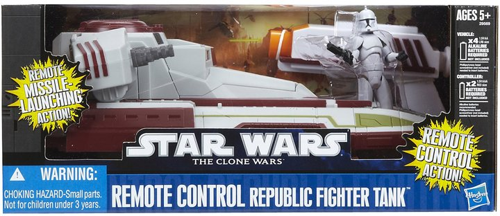 Star Wars Hasbro Republic Fighter Tank R/C