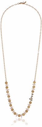 lonna & lilly Women's 28In Love Frontal Necklace
