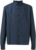Kolor cropped shirt - men - Cotton/Nylon - 4