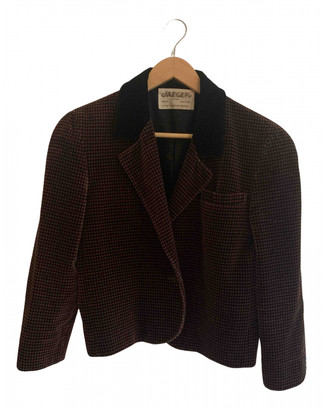 Jaeger Brown Velvet Jackets