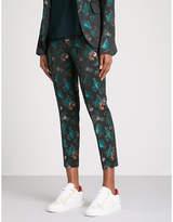 Zadig & Voltaire Posh jungle jacquard trousers