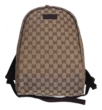 Gucci Brown Cloth Bags