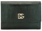 Dolce & Gabbana embossed snakeskin effect wallet