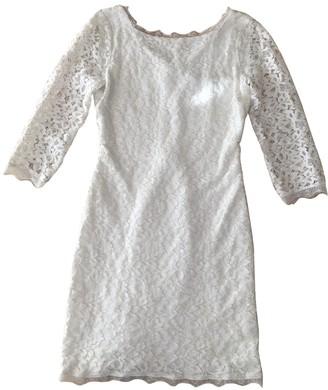 Diane von Furstenberg White Lace Dress for Women