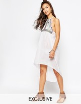 Wolfwhistle Wolf & Whistle Mirrored Beach Dress