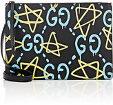 Gucci Men's GucciGhost-Print Crossbody Messenger Bag