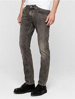 Calvin Klein Mens Sculpted Smog Grey Slim Jeans