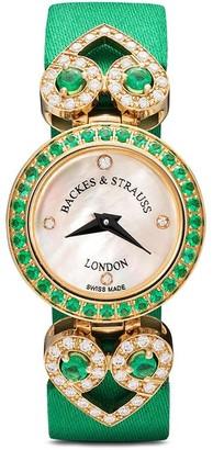 Backes & Strauss Miss Victoria Emerald Green 18mm
