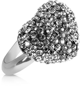 Forzieri Gisèle St.Moritz Fantasmania - Crystal Black Heart Ring