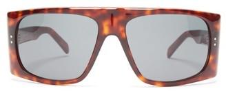 Celine D-frame Tortoiseshell-acetate Sunglasses - Tortoiseshell