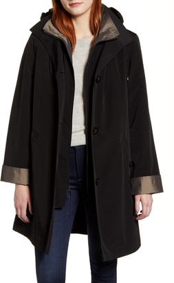 Gallery Raincoat with Detachable Liner and Hood