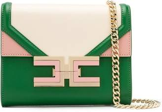Elisabetta Franchi colour block shoulder bag