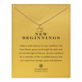 Dogeared New Beginnings Reminder Necklace