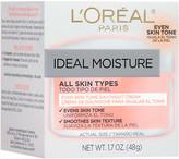 L'Oreal Ideal Moisture Even Skin Tone Day Cream