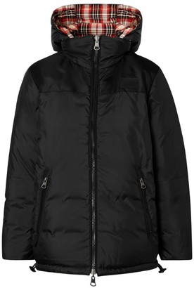 Burberry Reversible Tartan Puffer Jacket