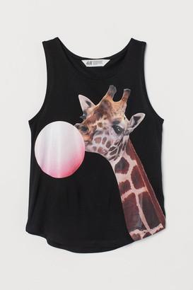 H&M Printed vest top