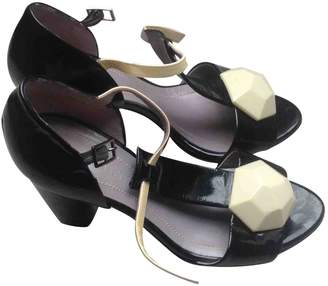 Sonia Rykiel Black Patent leather Sandals