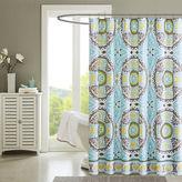 Madison Park Bali Printed Shower Curtain