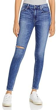 Paige Verdugo Mid Rise Ankle Jeans