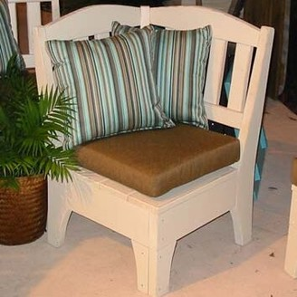 Uwharrie Chair Westport Corner Chair Uwharrie Chair Color: Polymer-White