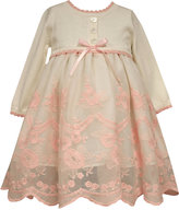 Bonnie Baby Baby Girls' Embroidered Sweater Dress