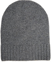 Barneys New York WOMEN'S CASHMERE HAT-DARK GREY