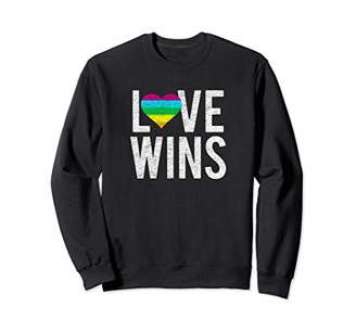 Well Worn Love Wins Sweatshirt
