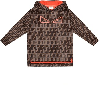 Fendi FF printed hoodie