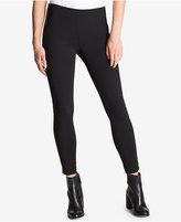 DKNY Faux-Leather-Trim Skinny Pants