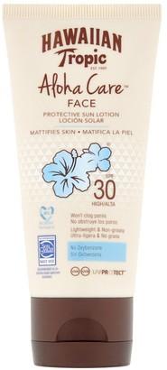 Hawaiian Tropic Aloha Care Protective Face Lotion Spf30 90Ml
