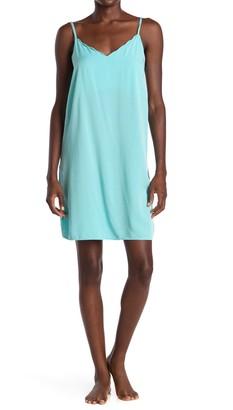 PJ Salvage Scalloped V-Neck Sleep Dress