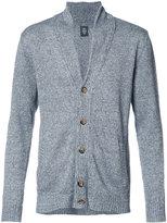 Eleventy button up cardigan - men - Cotton/Linen/Flax - L