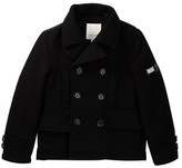 Diesel Peacoat with Bubble Back Panel (Little Boys)