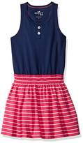 Scout + Ro Big Girls' Tank and Striped Skirt Dress