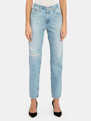 AG Jeans Phoebe High Rise Extended Straight Leg Jeans